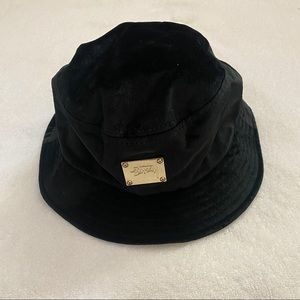 COPY - Stussy black velvet bucket hat STILL AVAILABLE‼️‼️